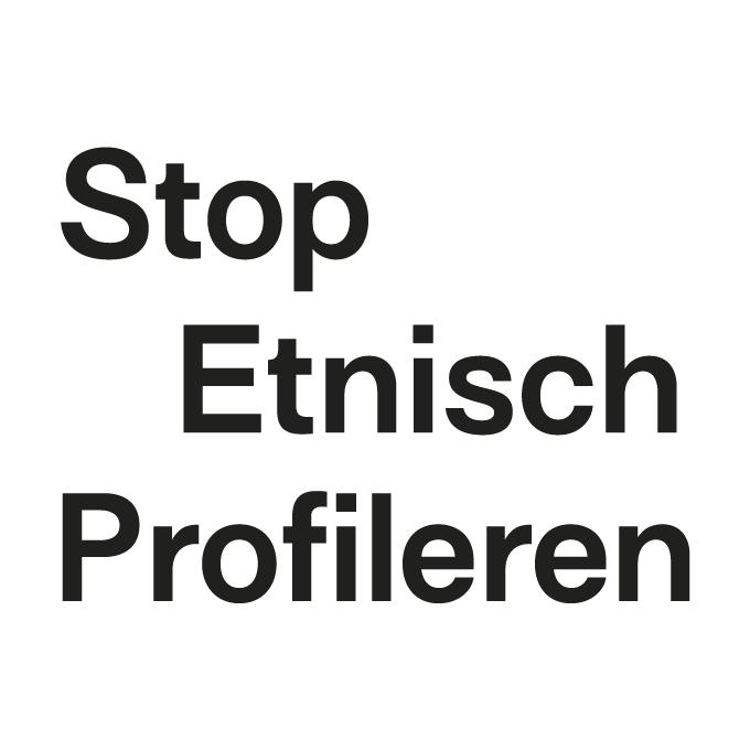 Logo Stop Etnisch Profileren